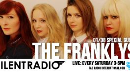 THE FRANKLYS LIVE ON THE SILENT RADIO SHOW SAT 1st AUGUST