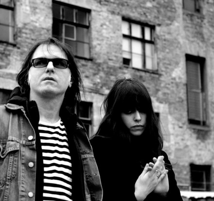 Tess Park and Anton Newcombe