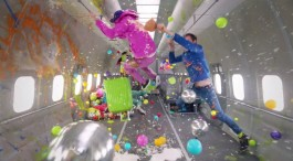 OK GO RELEASE FIRST-EVER MUSIC VIDEO SHOT IN ZERO GRAVITY