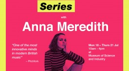ANNA MEREDITH TO LEAD RESIDENCY FOR YOUNG FEMALE ARTISTS