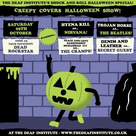 Creepy Covers Halloween POSTER
