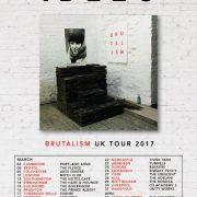 idles 2017 tour poster