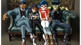 GORILLAZ LOOK FOR 'HUMANZ' ON NEW ALBUM... WATCH 'SATURNZ BARZ' VIDEO HERE